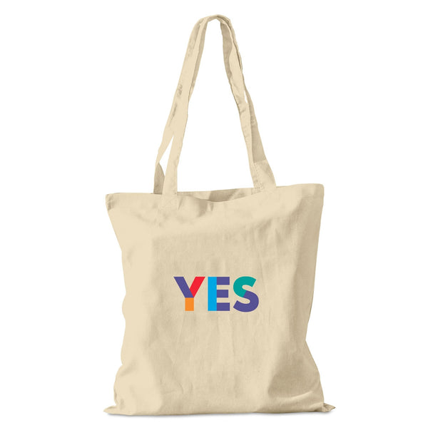 Natural Yes Cotton Shopper