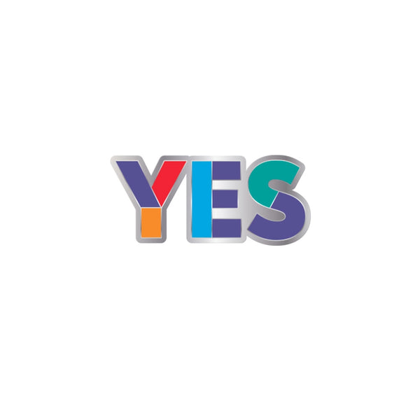 Yes Logo Pin Badge