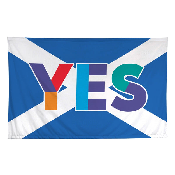 Yes Saltire Flag
