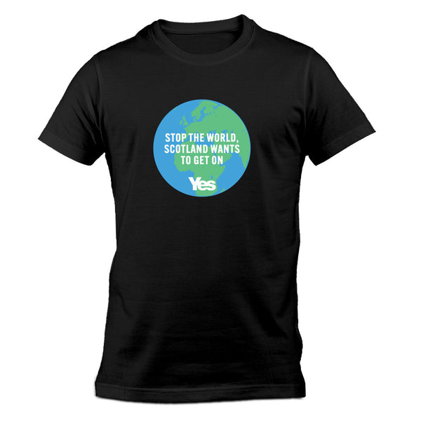 Stop the World T-Shirt - Black