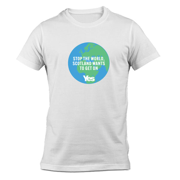 Stop the World T-Shirt - White