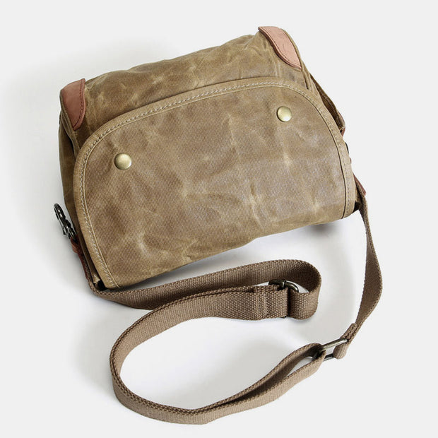 Large Capacity Retro Canvas Crossbody Bag