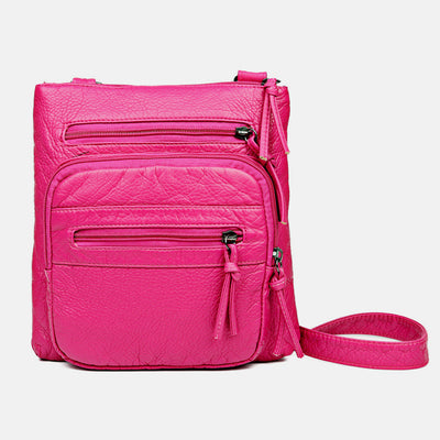 High Capacity Soft Crossbody Bag