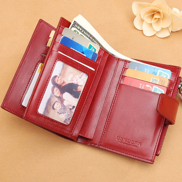 Multi-card Vintage Designed Purse