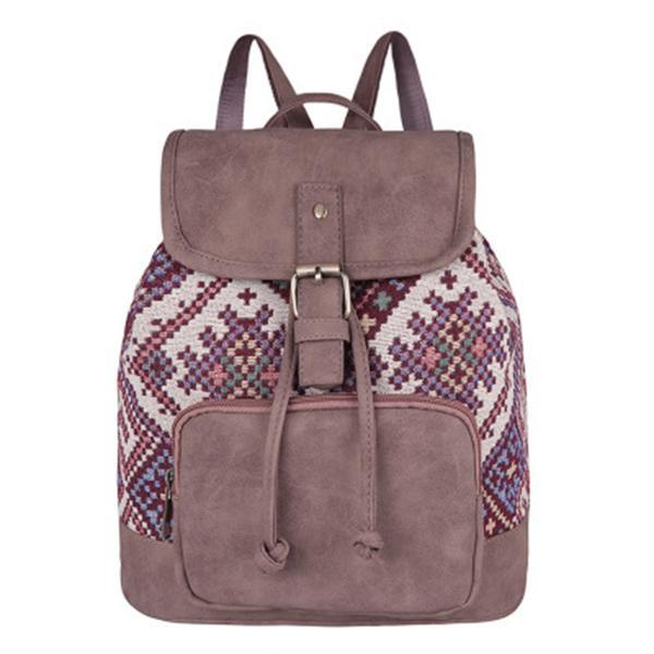 Multifunctional Vintage Printing Backpack
