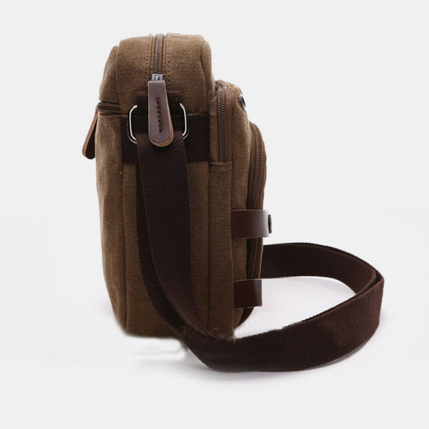 Large Capacity Multi-Pocket Crossbody Bag