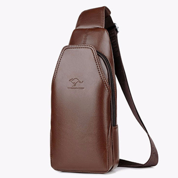 USB Large Capacity Sling Bag Crossbody Bag