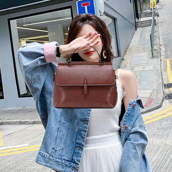Large Capacity Retro Handbag Crossbody Bag