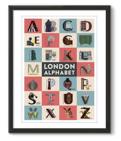 London Alphabet - Great Little Print Store