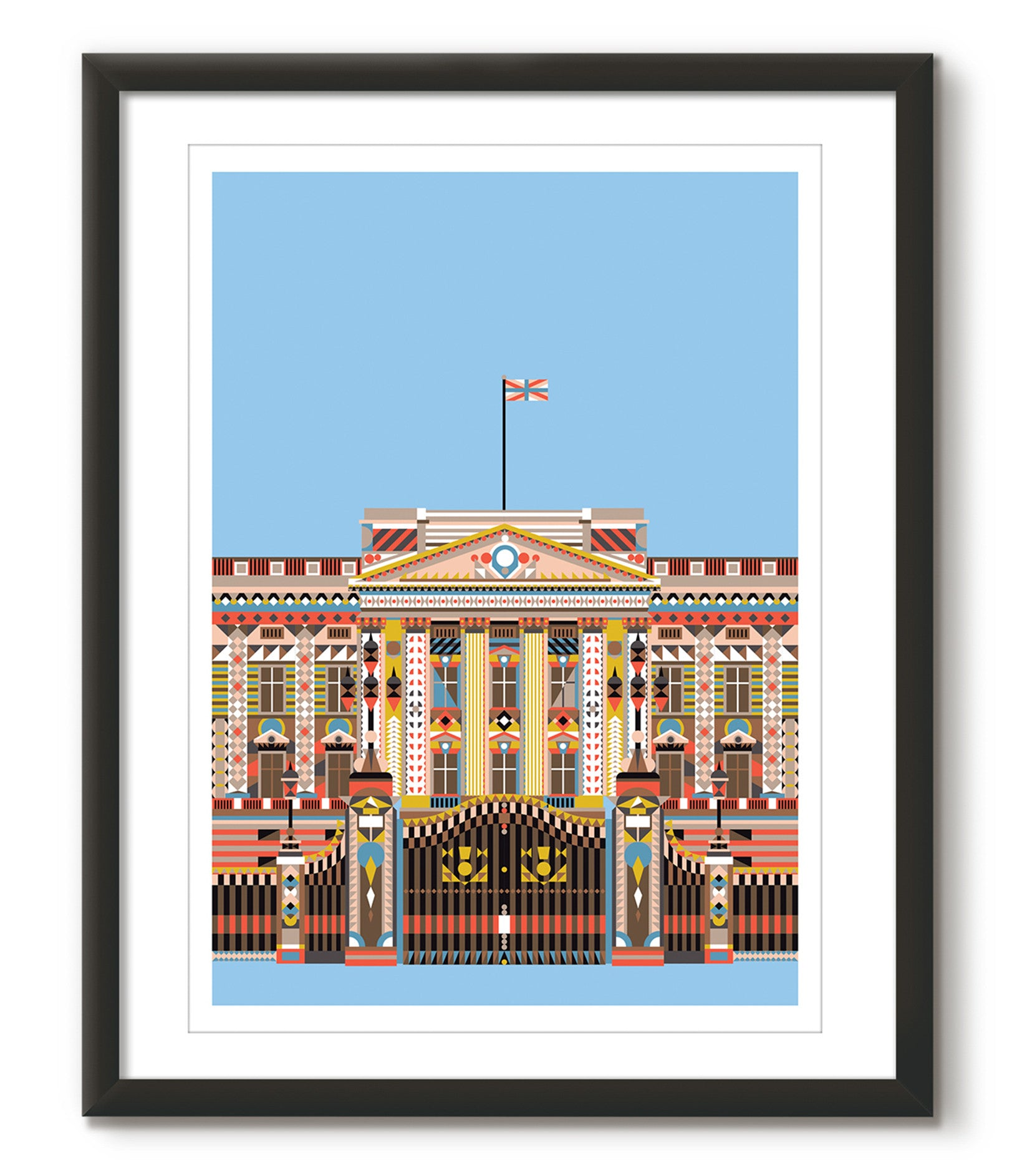 Multicolour Buckingham Palace - Light Blue