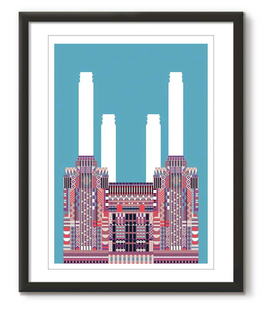 Multicolour Battersea Power Station - Teal