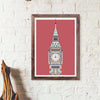 Multicolour Big Ben - Red - Great Little Place Store - 3