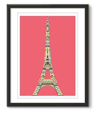 Multicolour Eiffel Tower - Red - Great Little Place Store - 1