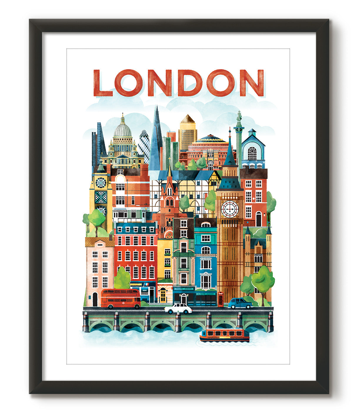 Watercolour London