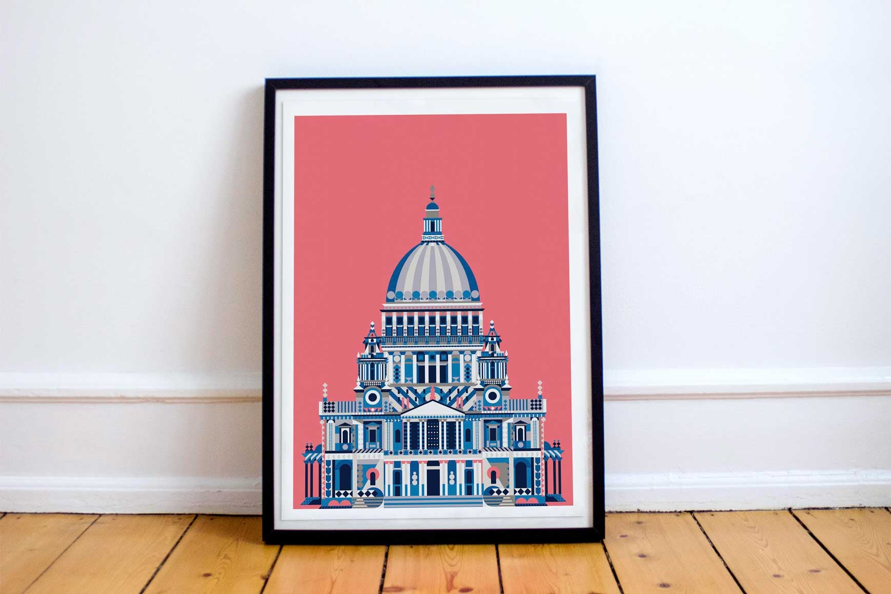Multicolour St Pauls Cathedral