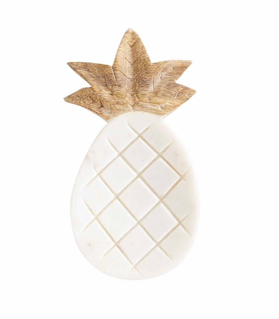 Mud Pie Pineapple Marble Spoon Rest