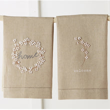 Load image into Gallery viewer, Mud Pie Cotton French Knot Towel