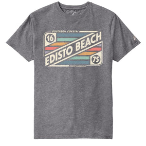 Edisto Beach Mix Tape All American Tee