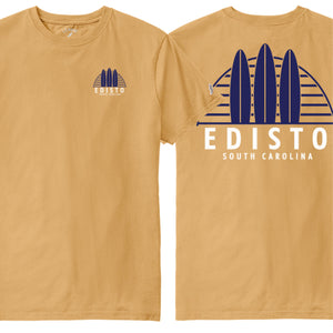 Edisto Linear Boards All American Tee