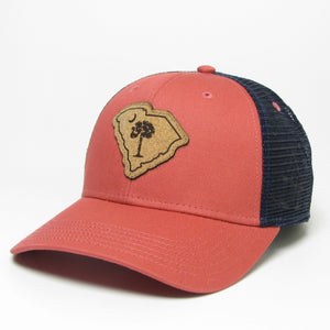 Legacy SC State Palm & Moon Trucker