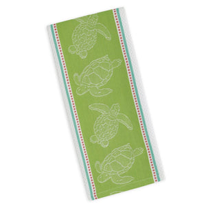 Sea Turtle Jacquard Dishtowel