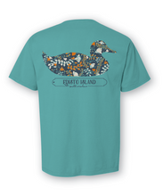 Load image into Gallery viewer, Fall Floral Duck Tee