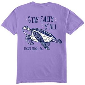 Stay Salty Y'All Turtle Tee