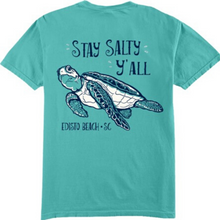 Load image into Gallery viewer, Stay Salty Y'All Turtle Tee