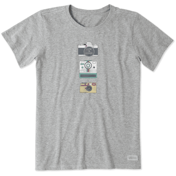 Life is Good Hobby Cameras Tee