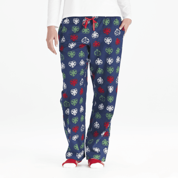 Life is Good Women's Holiday Classic Sleep Pant