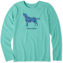 Load image into Gallery viewer, Life is Good Oh My Dog! Long Sleeve