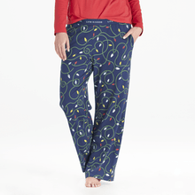 Load image into Gallery viewer, Life is Good Women's String Lights Snuggle Sleep Pant