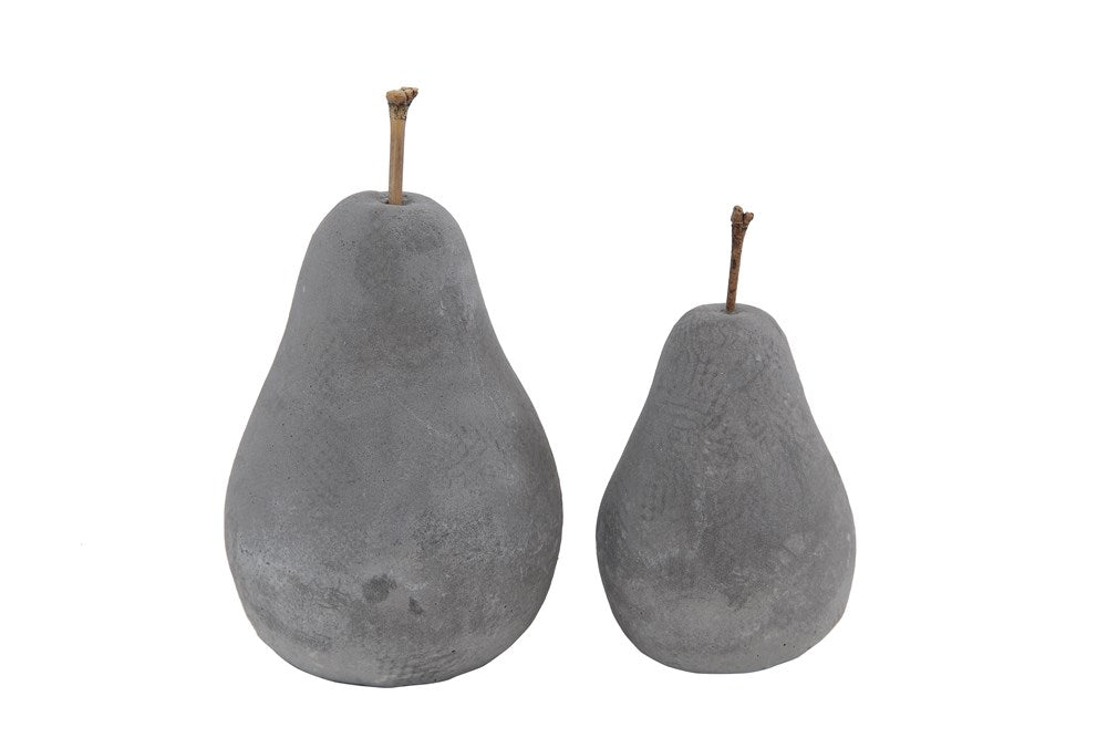 Cement Pear Decoration