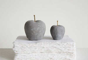 Cement Apple Decoration