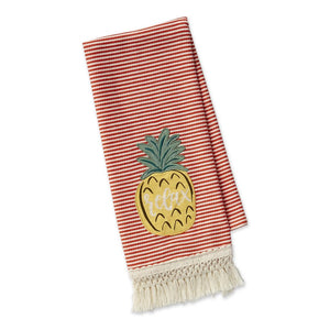 Relax Pineapple Dishtowel