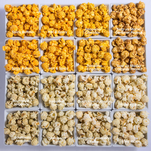16-Pack Obsession: Spicy Popcorn