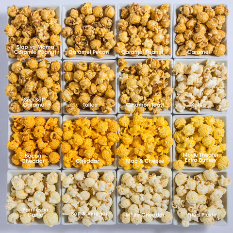16-Pack Obsession: Sweet & Savory Popcorn