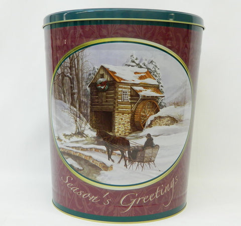 Old Mill Three Gallon Tin