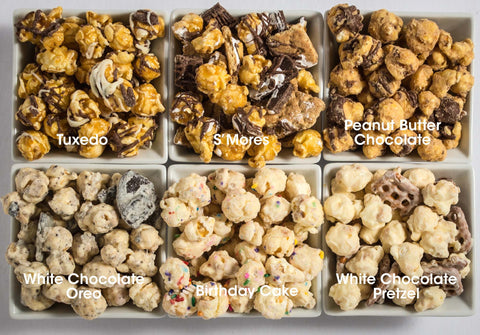 6-Pack Obsession: Chocolate Popcorn