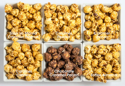 6-Pack Obsession: Nutty Popcorn