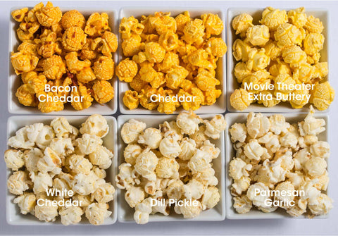 6-Pack Obsession: Savory Popcorn