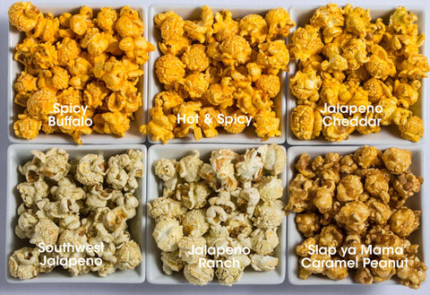 6-Pack Obsession: Spicy Popcorn