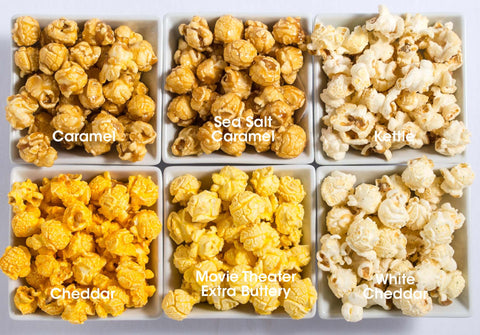 6-Pack Obsession: Sweet & Savory Popcorn