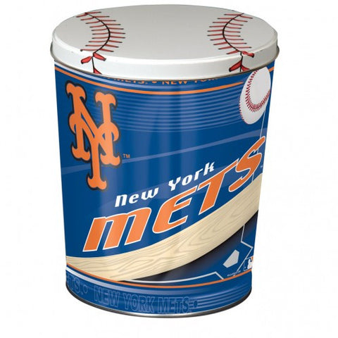 New York Mets Three Gallon Popcorn Tin