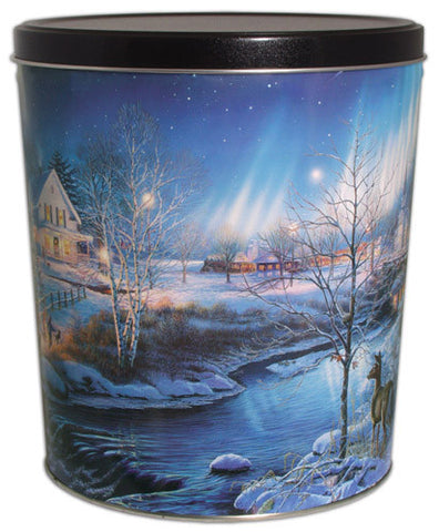 All Is Bright Three Gallon Tin
