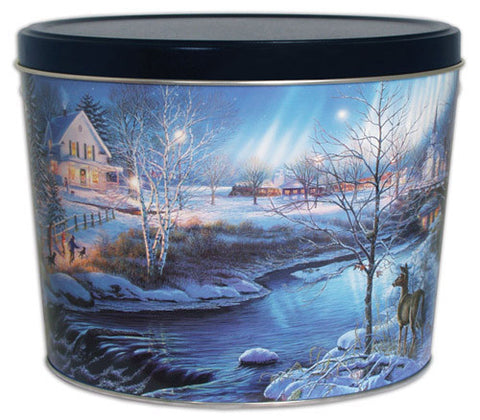 All Is Bright Two Gallon Tin