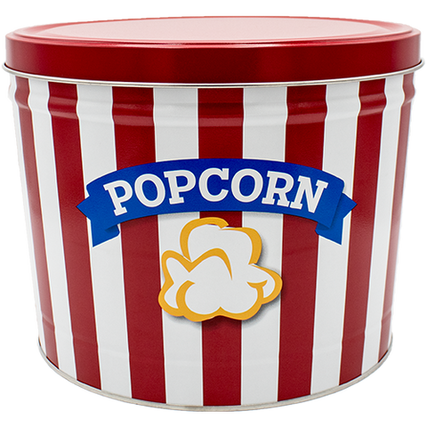 Blue Ribbon Two Gallon Popcorn Tin