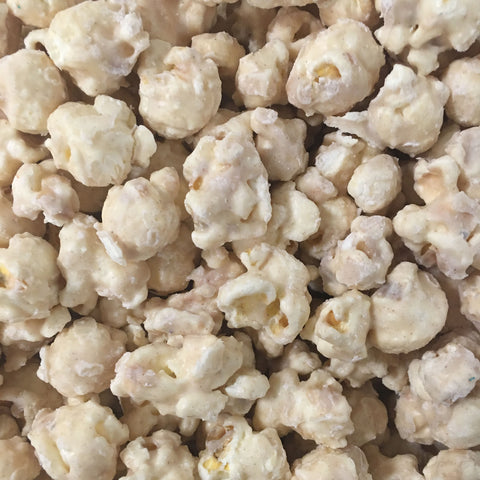 Cinnamon Bun White Chocolate Popcorn