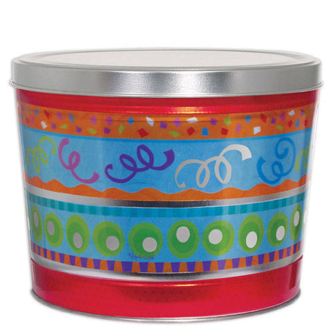 Fiesta Two Gallon Popcorn Tin