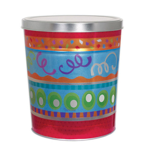 Fiesta Three Gallon Popcorn Tin